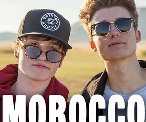 crawford collins, brothers, and morocco image