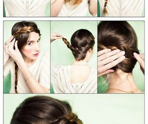 braids, lovely, and diy image