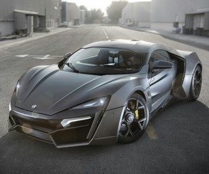 car, hypersport, and lykan image