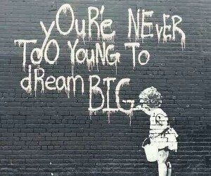 Dream, quotes, and art image