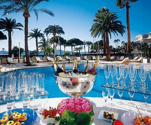 luxury, summer, and champagne image