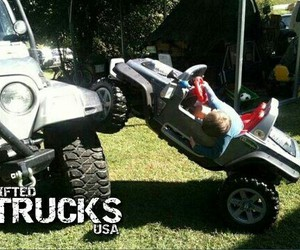 country, funny, and jeep image