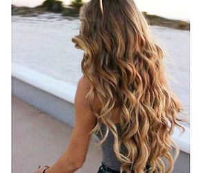 blonde and pretty image
