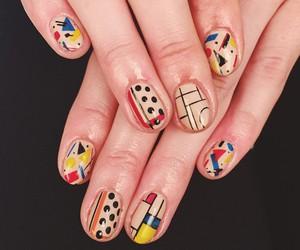 art, hands, and nail art image