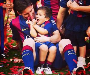 baby, Leo, and fc barcelona image
