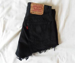 fashion, black, and shorts image