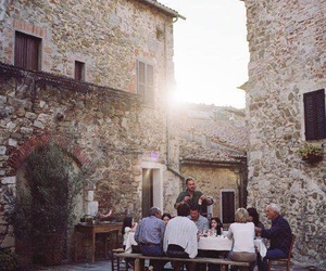 family and italy image