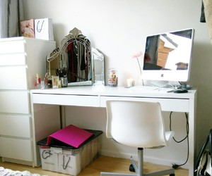 decor, dressing table, and bbloggers image
