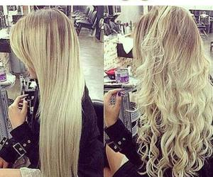 blonde, hair, and hairstyles image