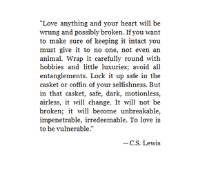 quotes, love, and c.s. lewis image