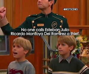 disney, funny, and zack and cody image