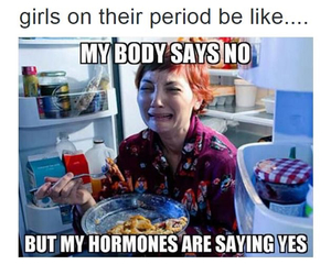 period and funny image