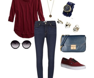 bag, necklace, and rings image