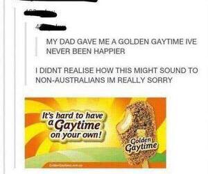 hilarious, ice cream, and australians image
