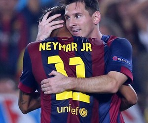 messi, Barca, and neymar image