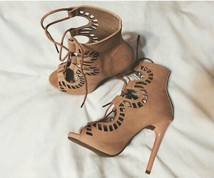 fashion, brown, and shoes image