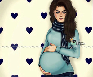 art, pregnant, and girly_m image