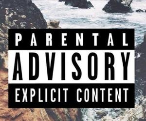 parental advisory, wallpaper, and parental image