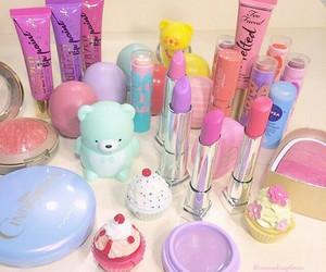 makeup, cosmetics, and girly stuff image