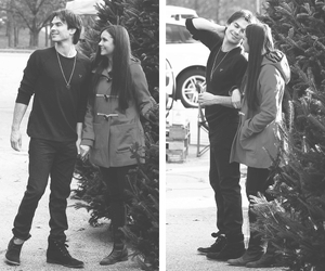 love, ian somerhalder, and Nina Dobrev image