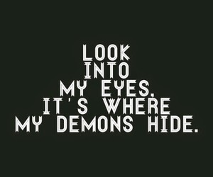 demon, eyes, and imagine dragons image