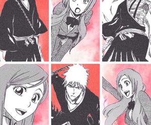 anime, anime girl, and b&w image
