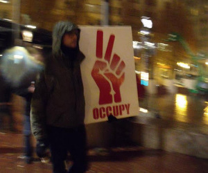 man, occupy, and peace image
