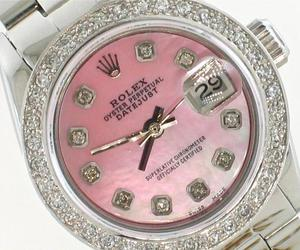 diamonds, watch, and expensive image