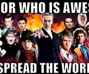 awesome, doctor who, and all doctors image