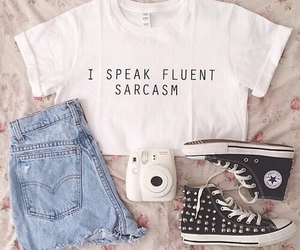 camera, converse, and outfit image