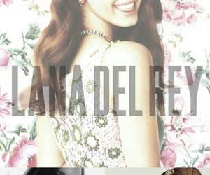 lana del rey, beautiful, and flowers image