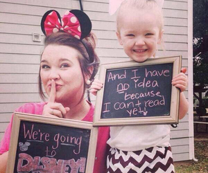 child, funny, and mom image