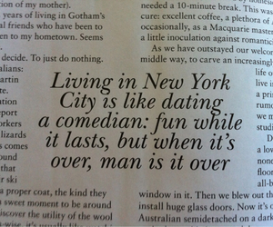 quote, new york, and city image