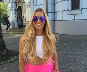 long hair, dominika cibulkova, and blonde image