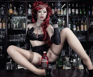 booze, Hot, and redhead image