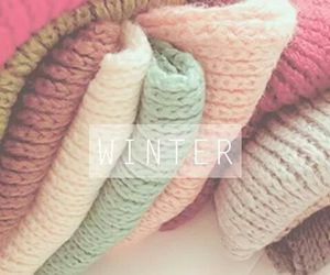 winter, sweater, and love image