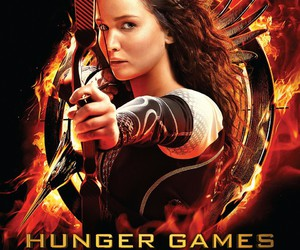 catching fire, hunger games, and katniss everdeen image