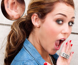 ear tattoo, love, and earing image