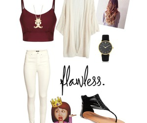 clothes and flawless image