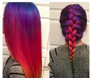 hair, color, and beautiful image