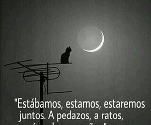 awesome, frases, and moon image
