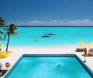 beach, Maldives, and paradise image