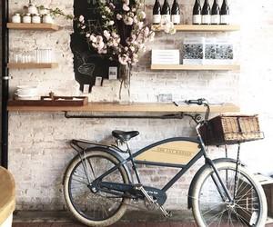 bike and flowers image