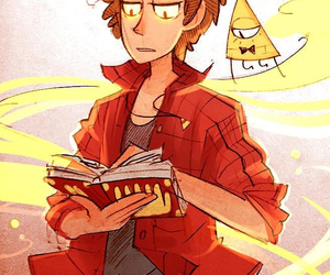 gravity falls, bill cipher, and bipper image