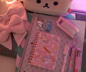 kawaii and stationery image