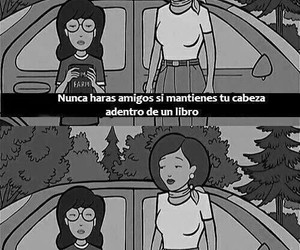book, Daria, and frases image
