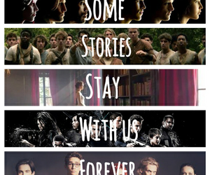 books, divergent, and the hunger games image