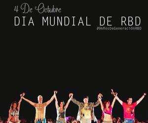 band, banda, and RBD image