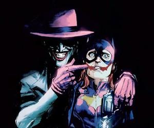 joker, batgirl, and batman image