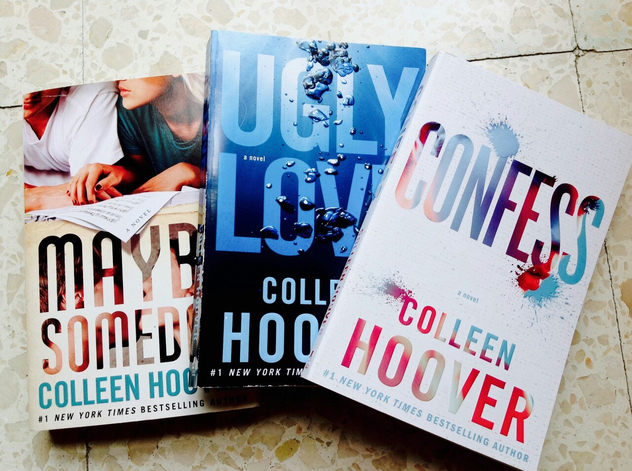 book, ugly love, and colleen hoover image